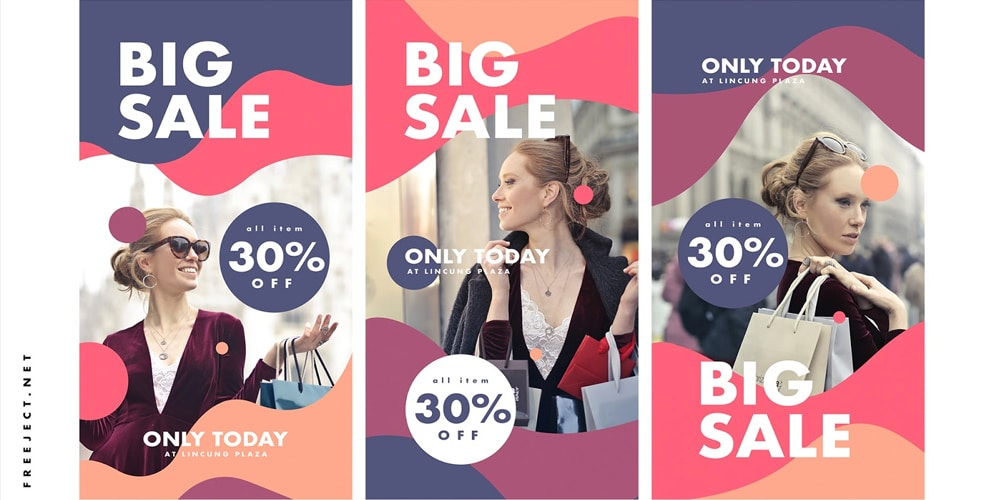 Big Sale Instagram Story Template PSD