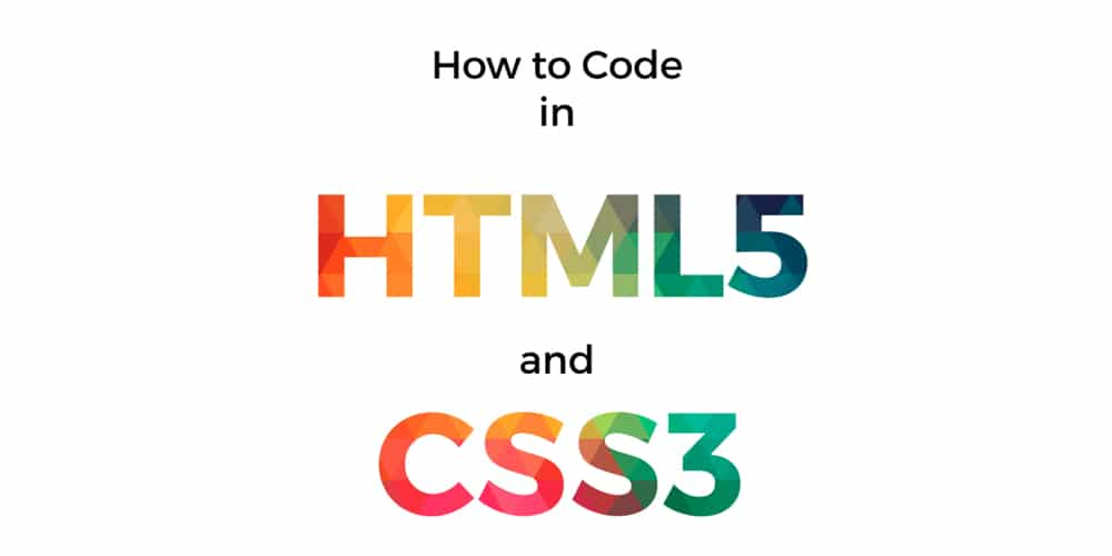 Code In HTML5 And CSS3
