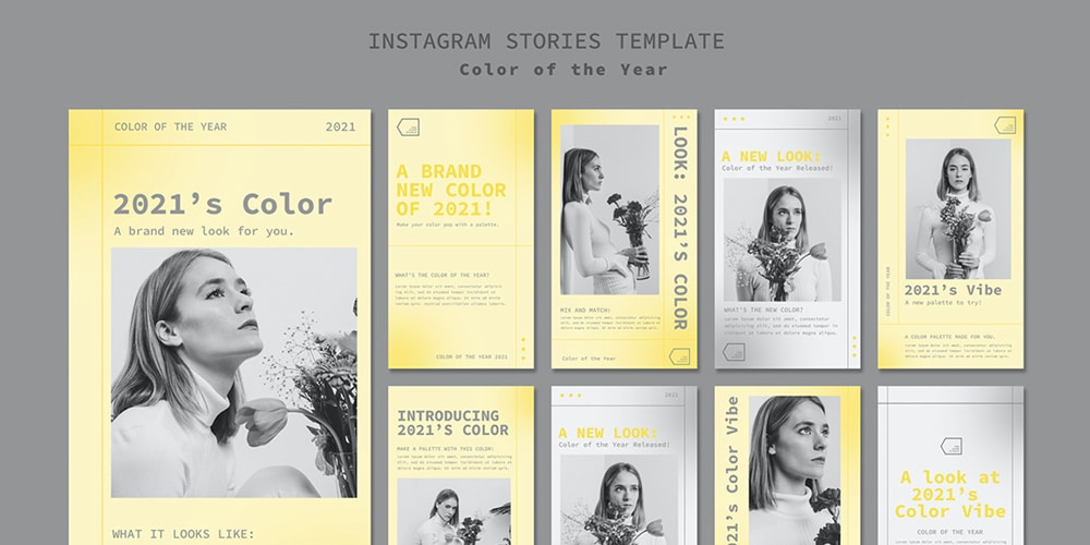 Color Of The Year Instagram Template