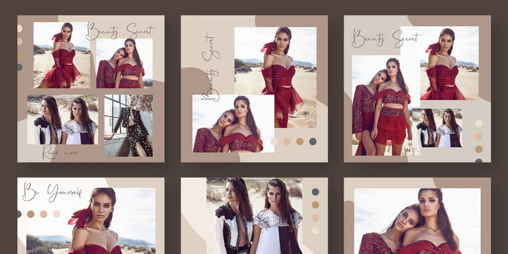 Fashion Blog Instagram Post Template