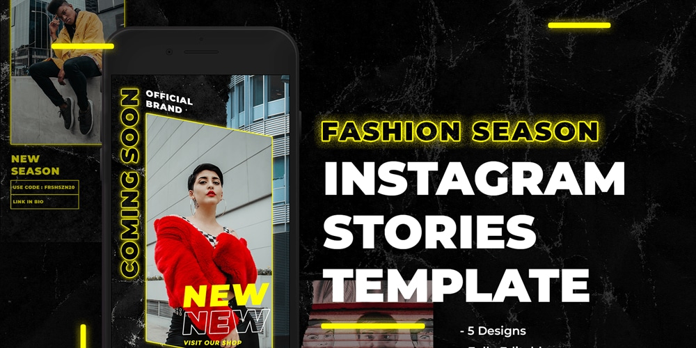 Fashion Season Instagram Stories Template