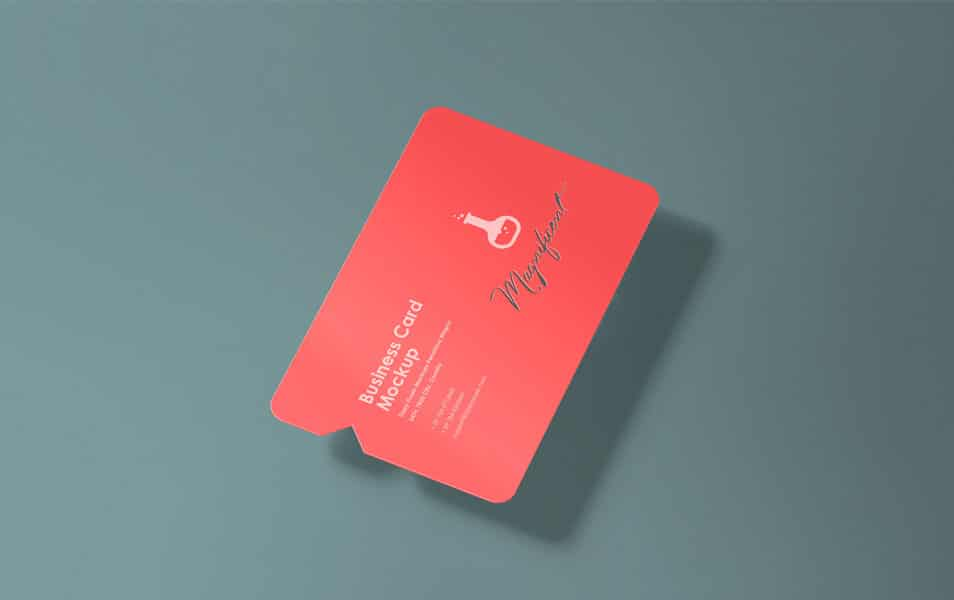 Free Creative Business Card Mockup