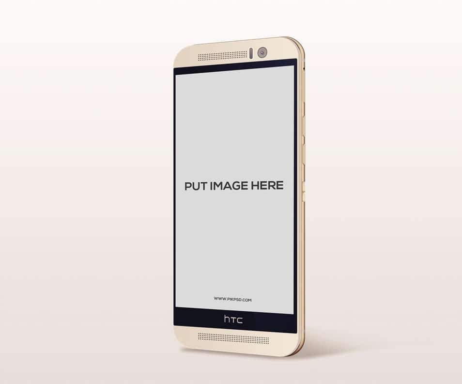 Free HTC Android Phone Mock-Up PSD