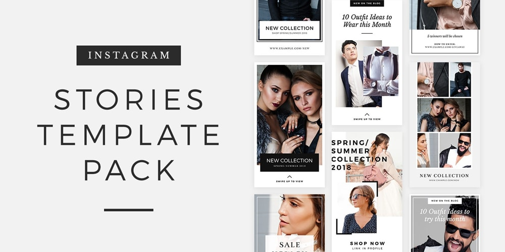 Free Instagram Stories Template Pack