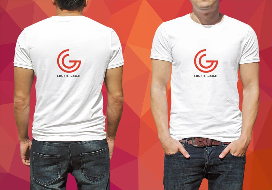 Free T-Shirt Mockup for Logo Branding