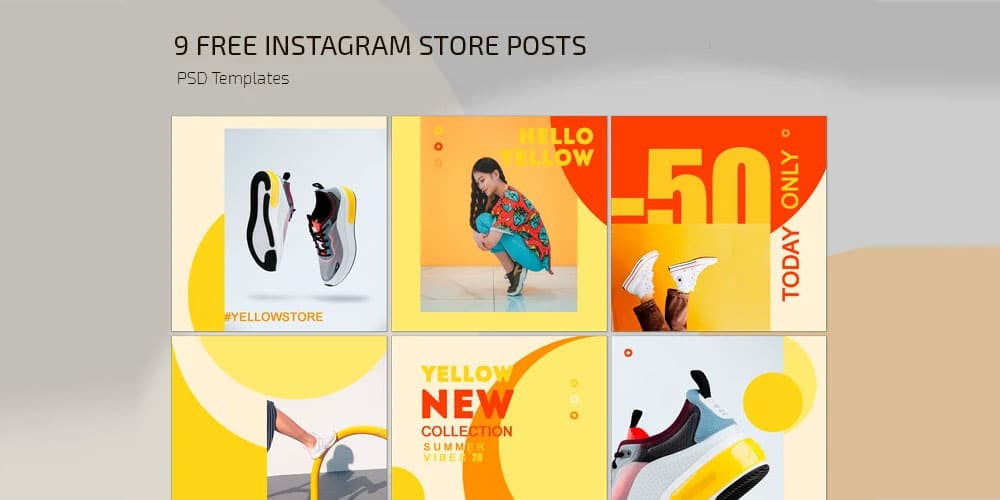Instagram Store Post Templates