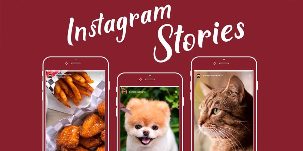 Instagram Stories Interface Templates PSD