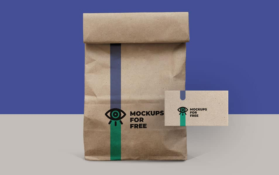 Paper Bag Mock Up