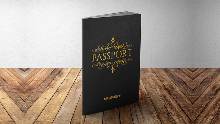 Passport PSD Mockups