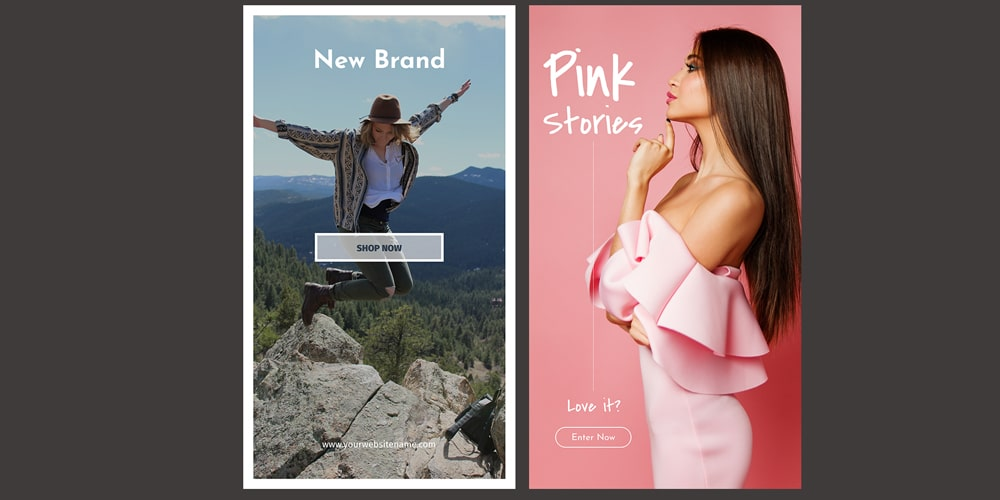 Promotional Instagram Stories PSD