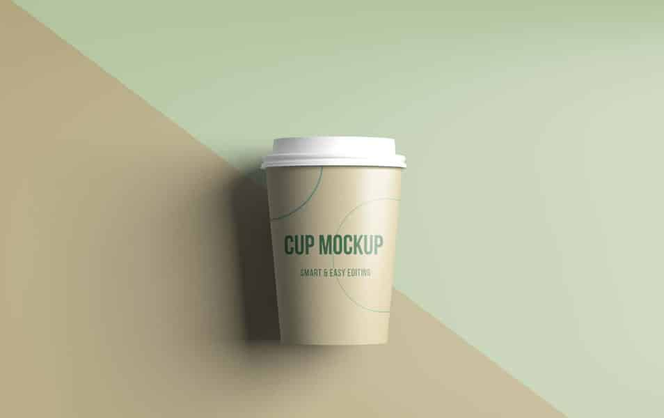 Realistic Coffee / Tea Cup Mockup
