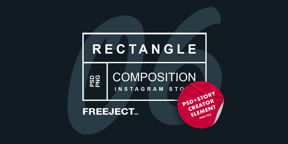 Rectangle Composition Instagram Story Template