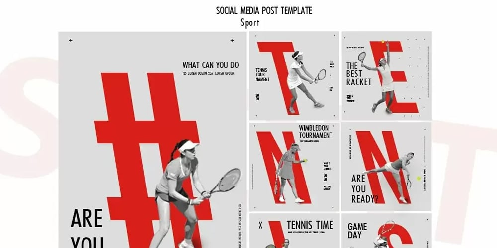 Sport Instagram Post Template