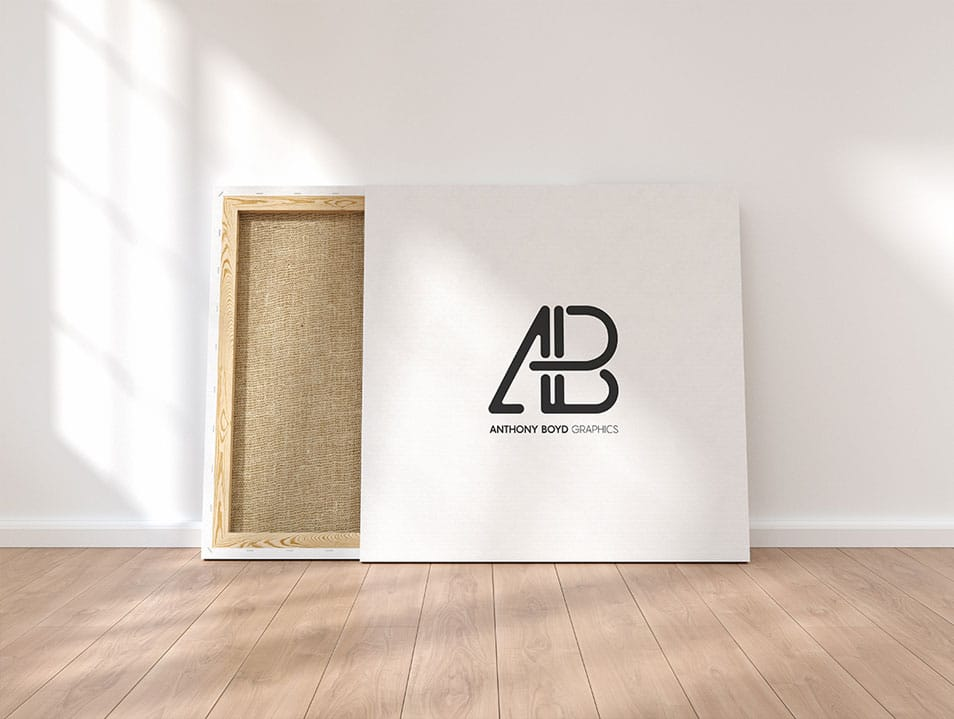 Square Canvas Mockup