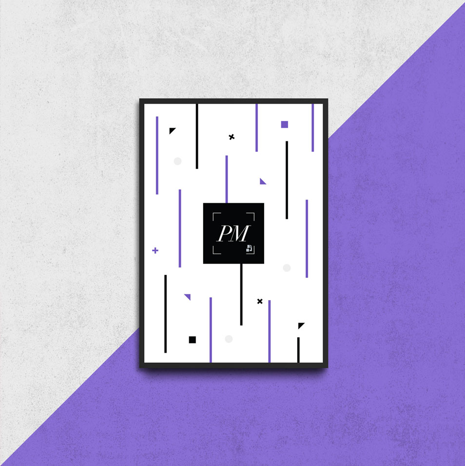 Wall Frame Poster Mockup Psd For Artworks Css Author