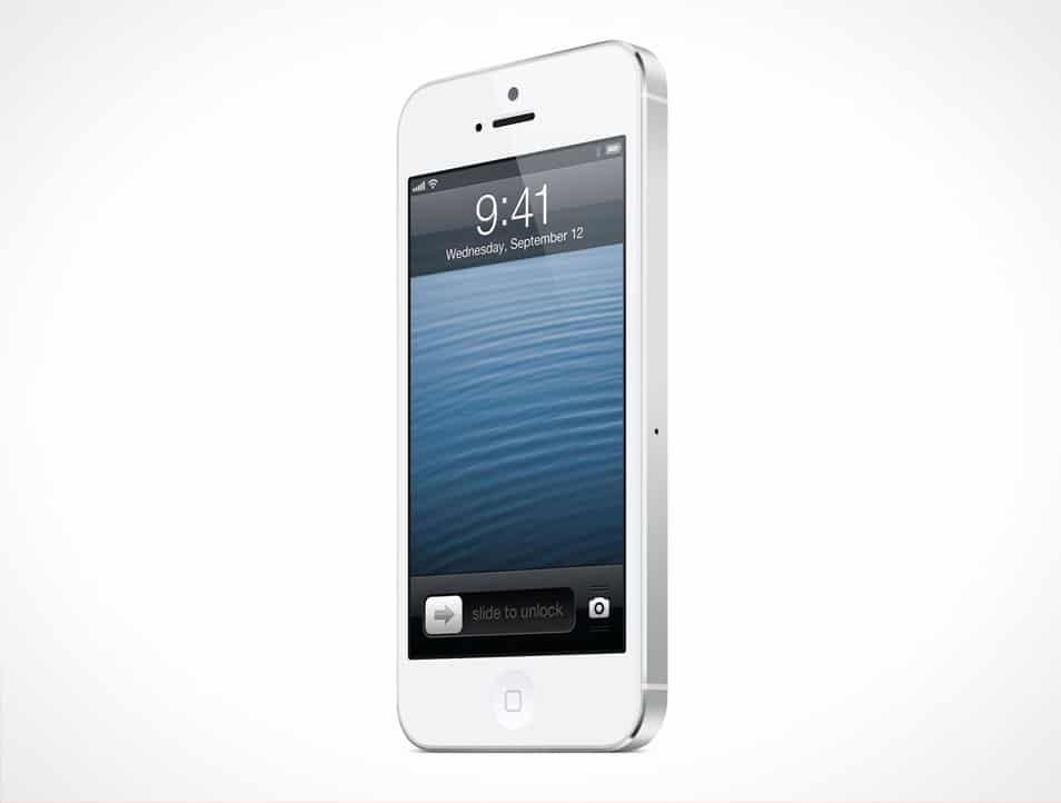 iPhone 5 Mockup Template