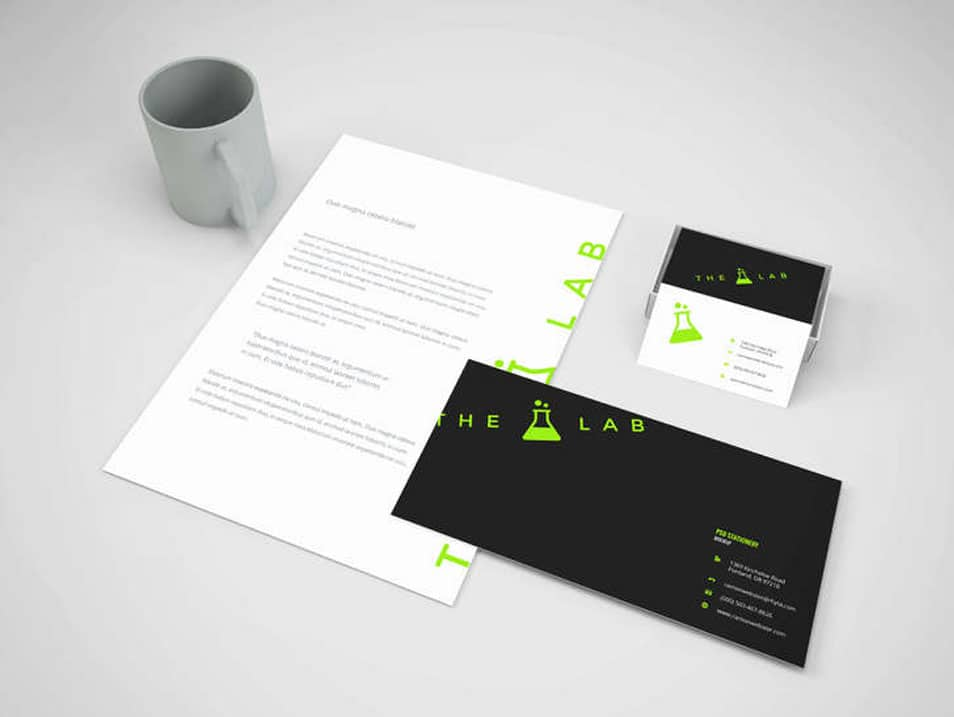 Branding Stationery Mock Up