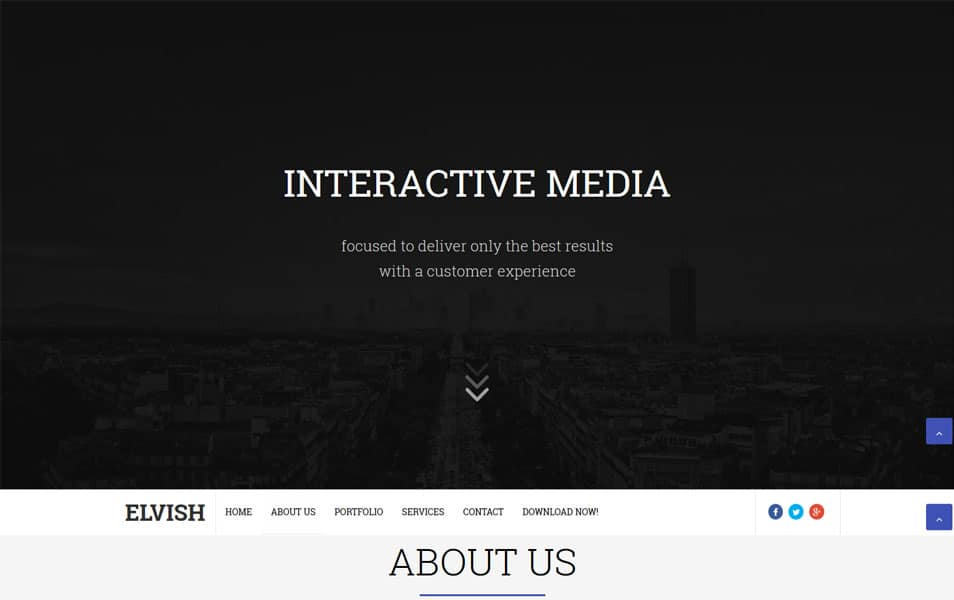 Elvish Responsive Blogger Template