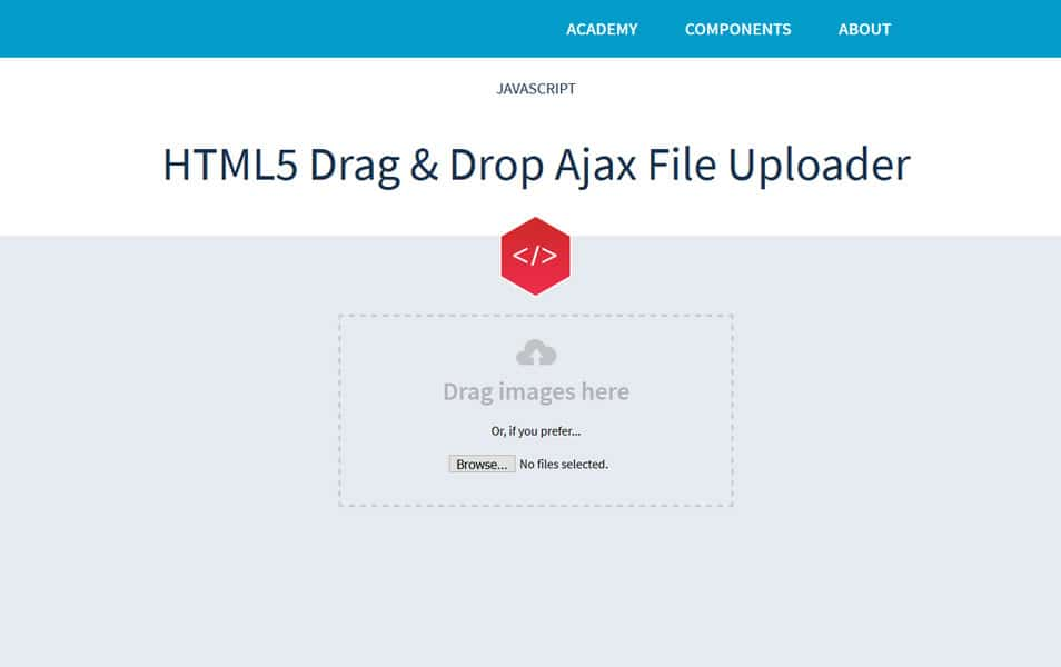 25+ Best JavaScript File Upload Library & Plugins » CSS Author