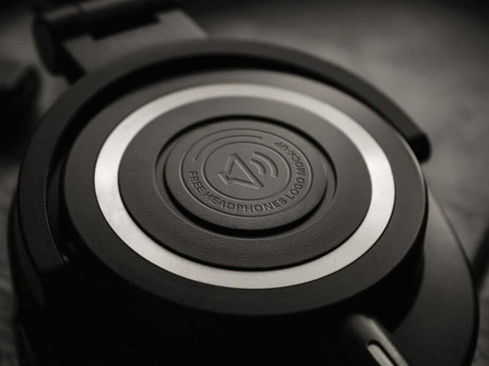 Headphone Logo Mockup