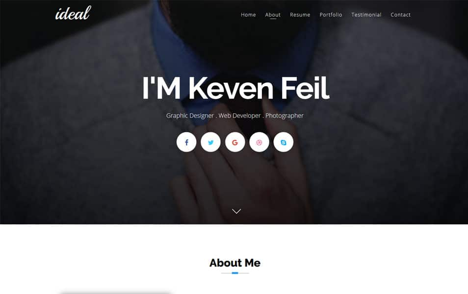 Ideal Responsive Blogger Template