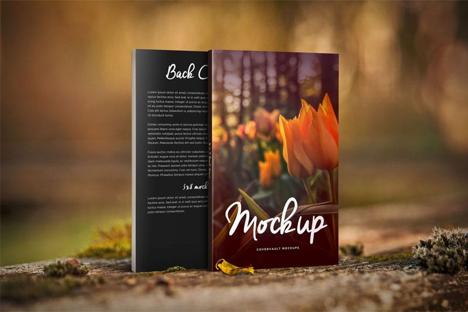 Nature Things 5 x 8 Front & Back Book Mockup