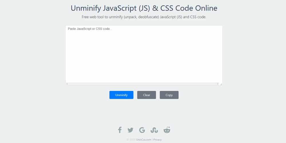 Unminify CSS