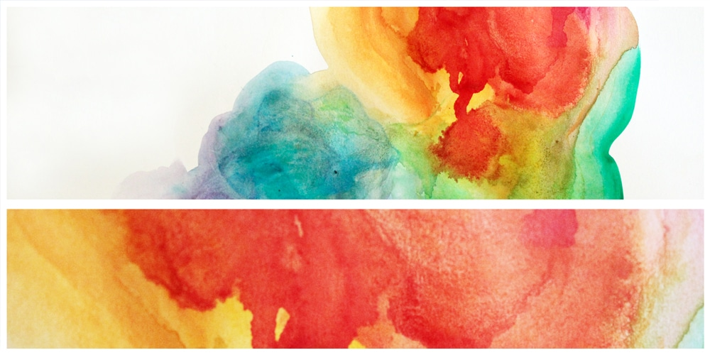 large watercolor textures