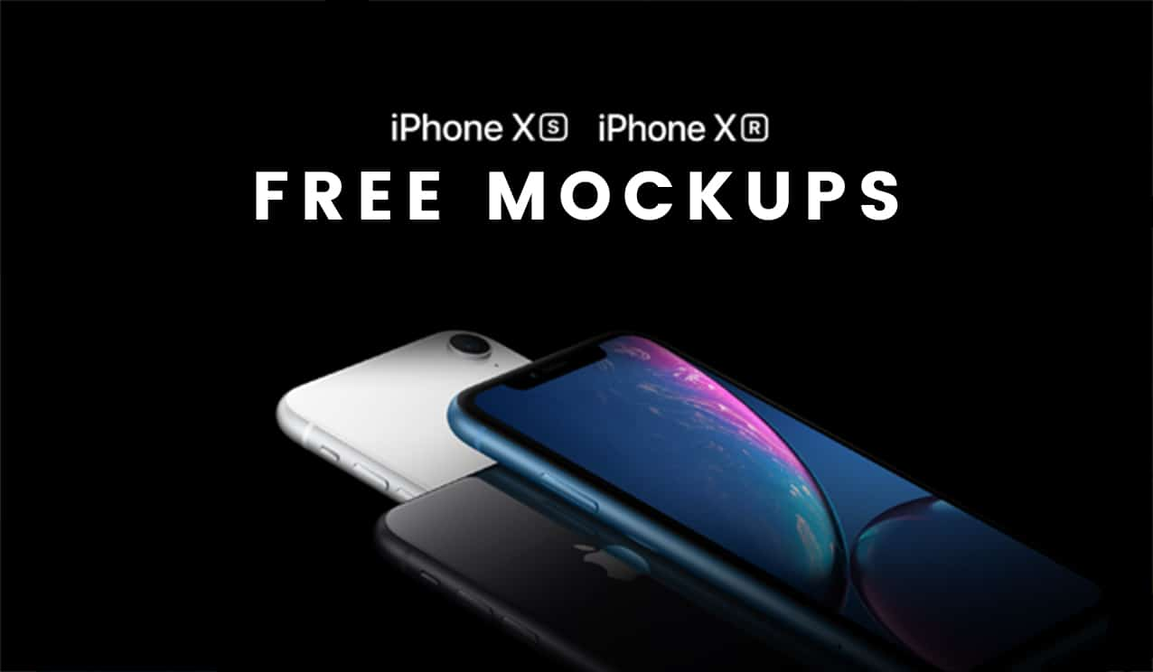40  iphone xs  iphone xs max  u0026 iphone xr mockup templates  u00bb css author