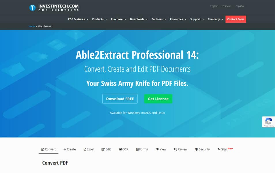 Able2Extract Professional 14 - pdf editors