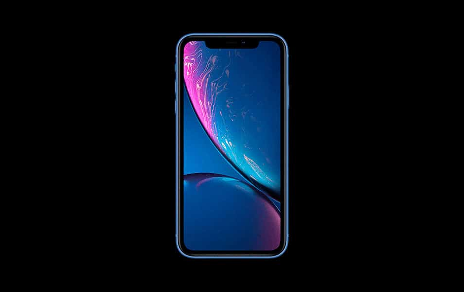 iPhone XR Mockup PSD