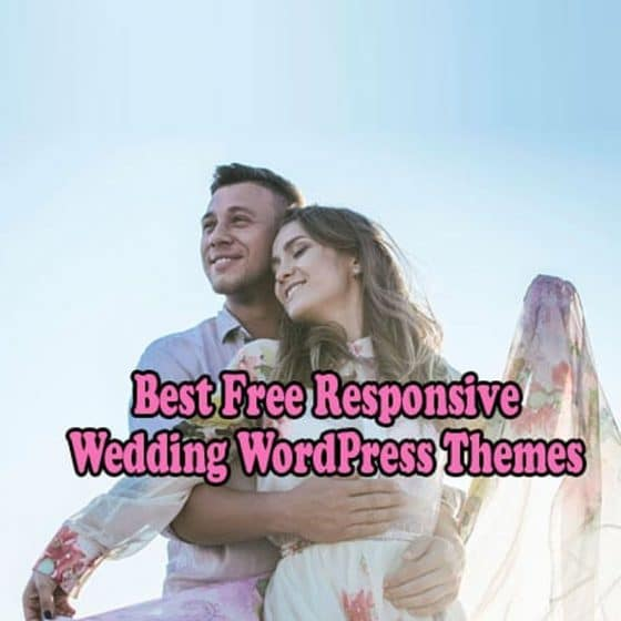 Best Free Responsive Wedding WordPress Themes 2021