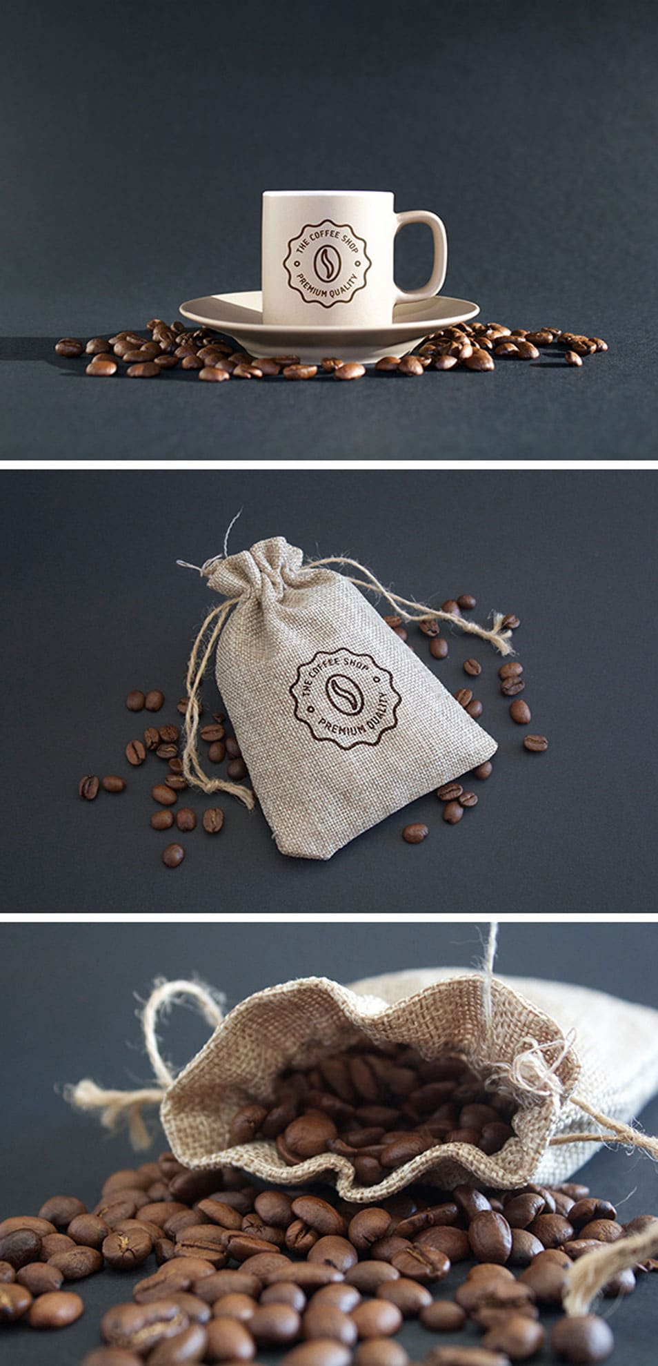 Coffee MockUps PSD