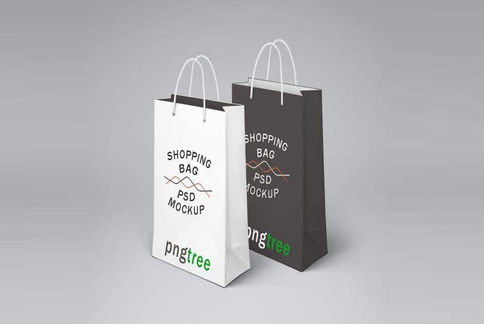 Shopping Bag Mockup Template