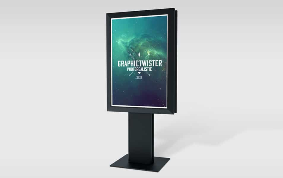 Small Bilboard Mockup Full