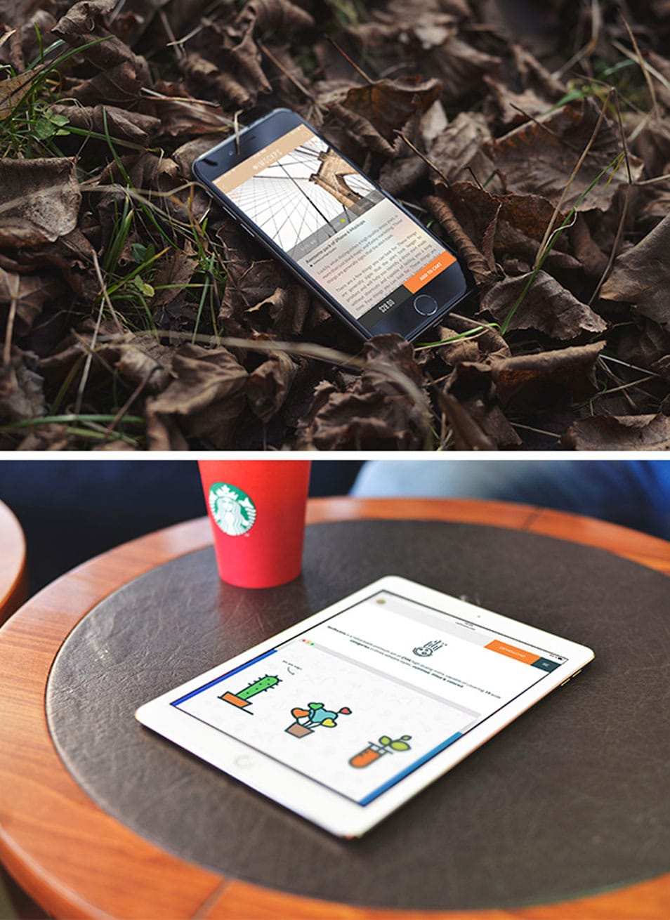 iPhone 6 & iPad Air 2 Photo MockUps
