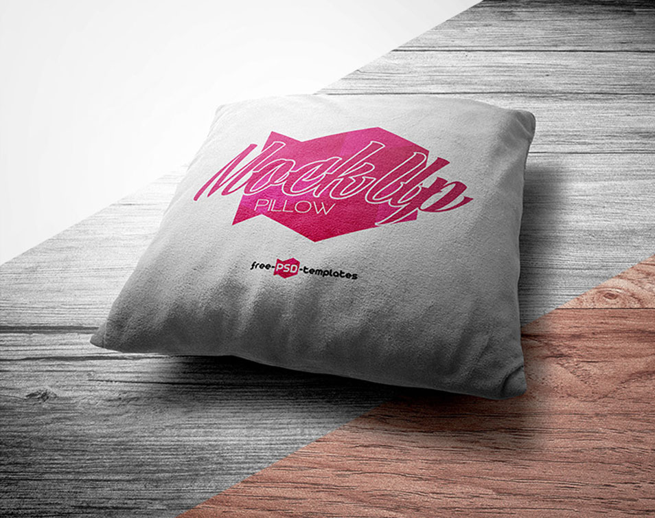 Free Pillow Mock-up in PSD