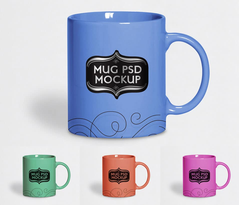 Free Tea Cup / Mug Mock-up PSD