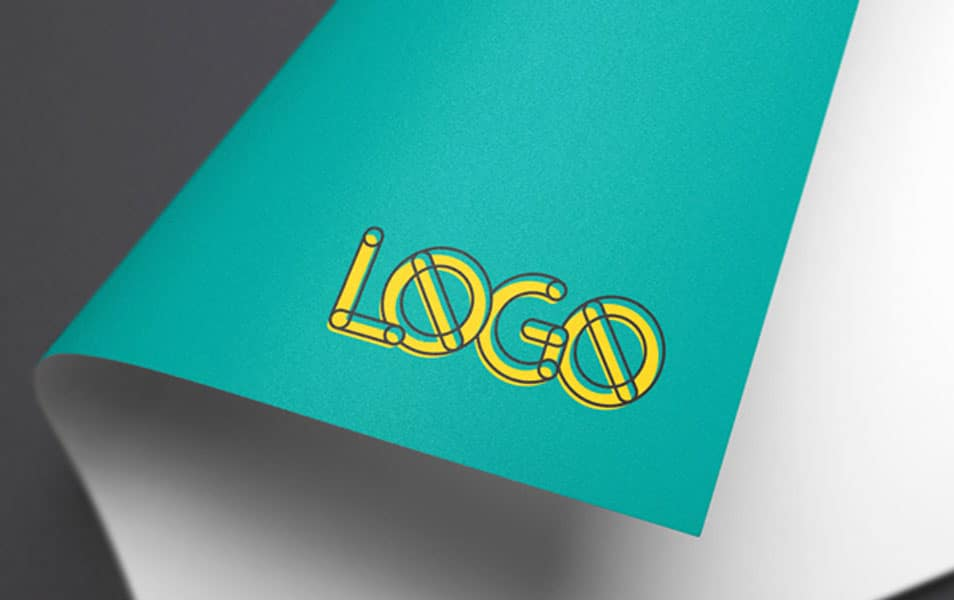 Full-Color Logo MockUp