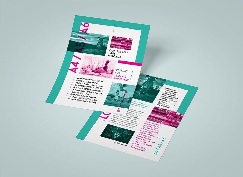 Leaflet Mockup Template » CSS Author