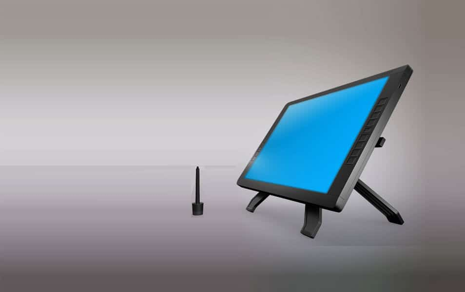 Wacom Graphic Screen Tablet Mock-up
