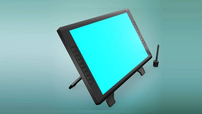 Wacom Graphic Screen Tablet Mockup