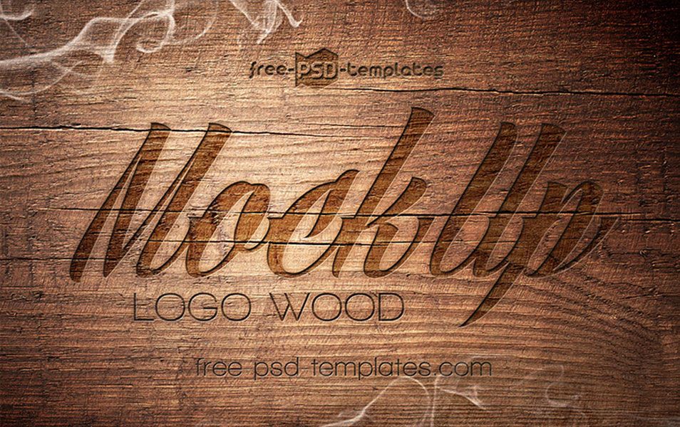 3 Free Logo Mock-up in PSD