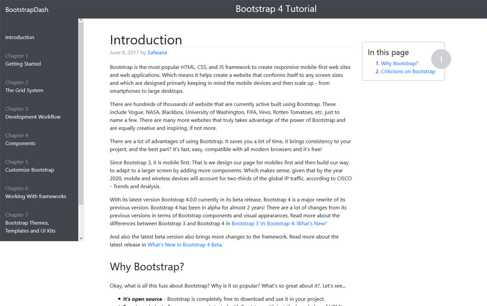 Bootstrap 4 Tutorial | BootstrapDash
