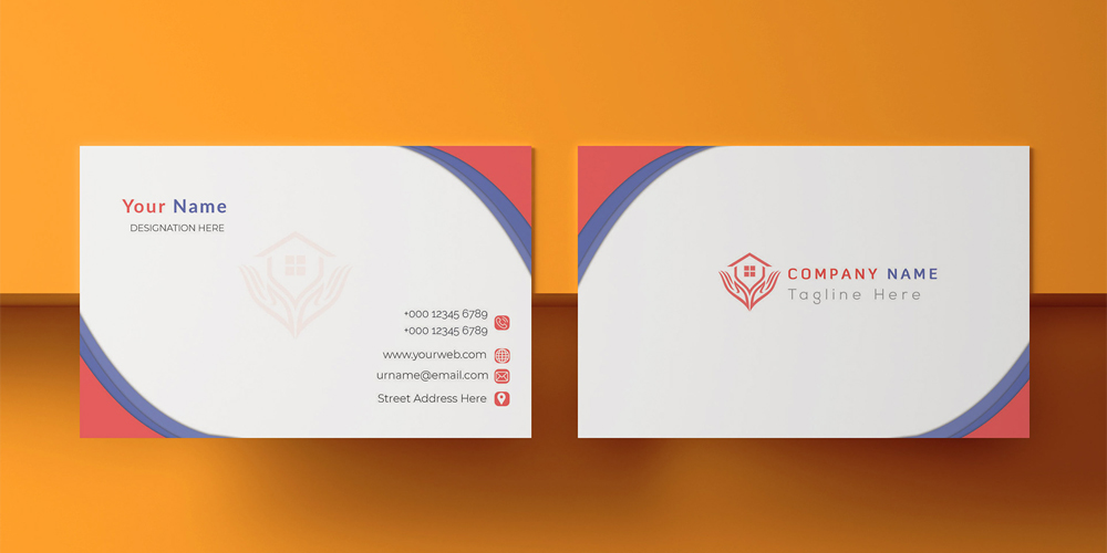 Free Business Card Print Design PSD