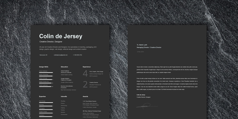 ultimate collection of free resume templates  u00bb css author