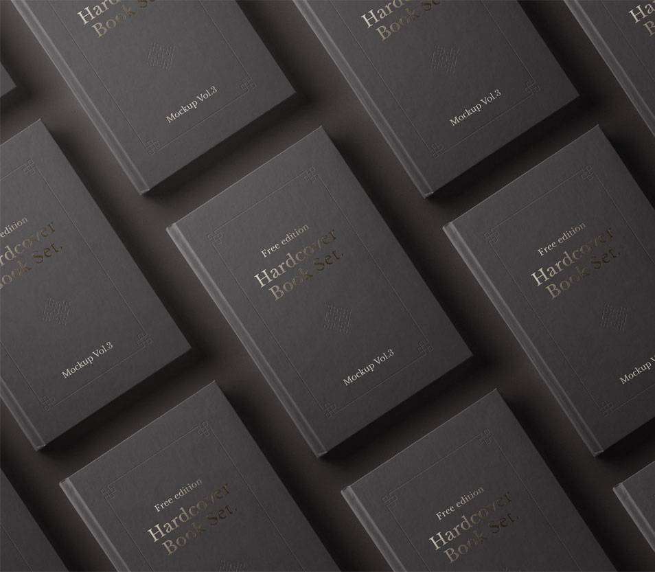 PSD Book Mockup Hardcover