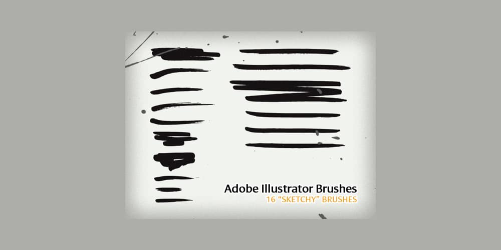 Sketchy Illustrator Brushes