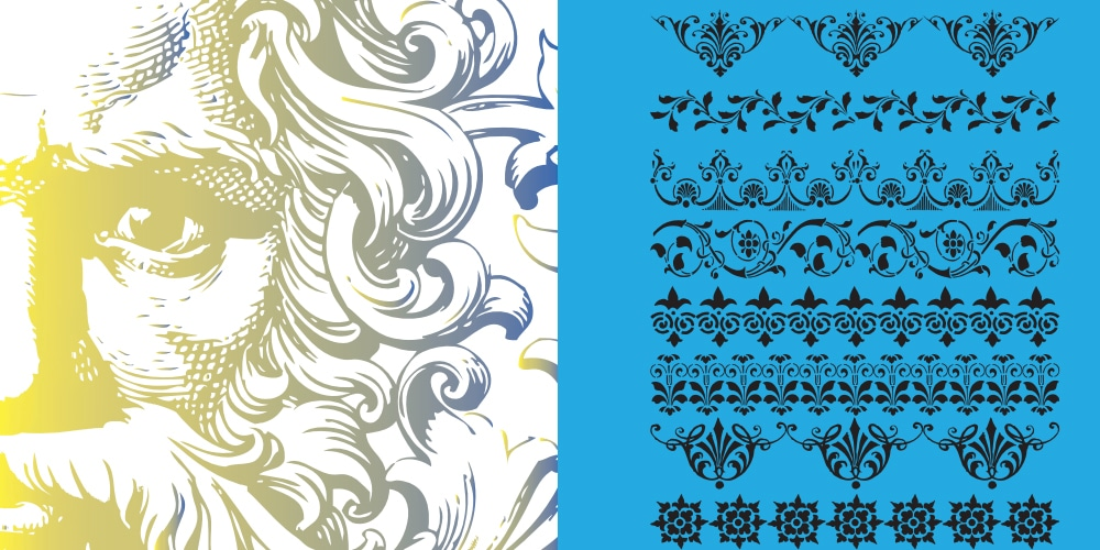 Victorian Vector Brush Pack