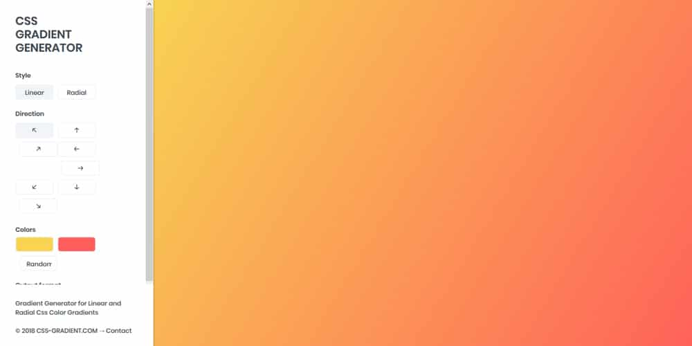 The Best Gradient Generators & Libraries » CSS Author